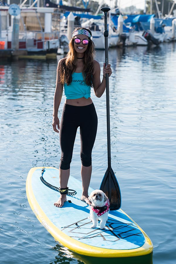 Dog Friendly Paddleboarding Flatwater Fasst Pro Paddleboard Aqua Adventures San Diego