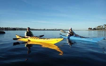 Sea Kayaking 2 Lessons Aqua Adventures San Diego