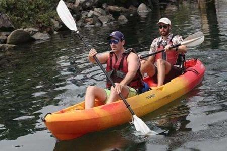 Tandem Kayaks Aqua Adventures San Diego