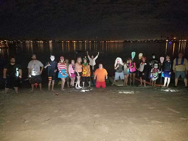 Halloween Kayak and Paddleboard Event Aqua Adventures San Diego