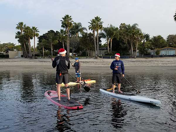 Santa Paddle Aqua Adventures San Diego
