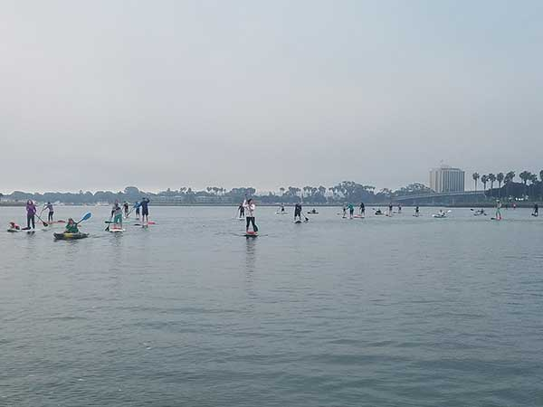 Paddleboard Event at Aqua Adventures in San Diego